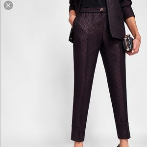 Ted Baker {Jacquard Piping Suit Trouser}